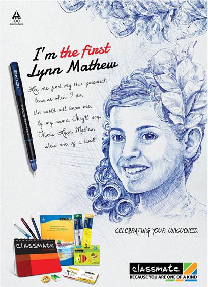 Advertisement On Pen