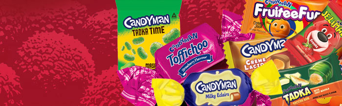 Candyman Range of Confectioneries