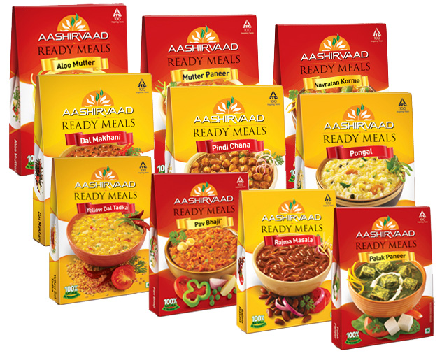 Aashirvaad instant mixes ready meals images frompo for Aashirwad indian cuisine