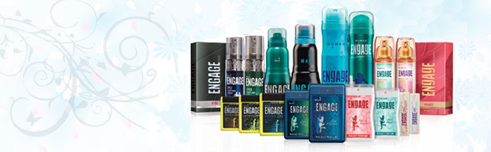 Range of Engage Deo Sprays by ITC