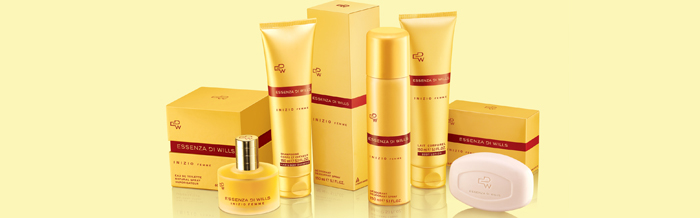 Image depicting ITC's Essenza Di Wills Inizio Femme range of personal care products