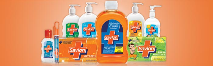 Image depicting ITC's Savlon range of personal care products