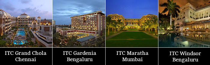 Image depicting ITC's Hotels