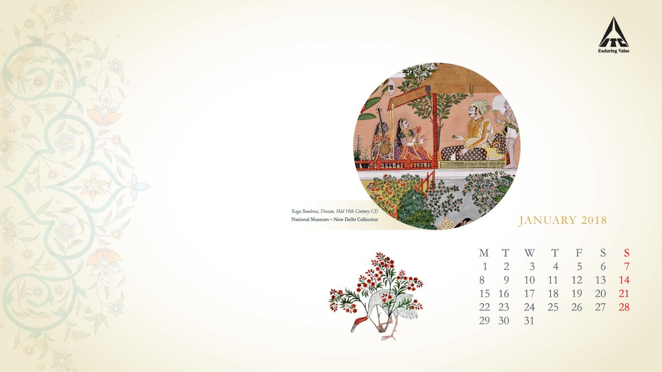 Itc Calendar Wallpaper 2018